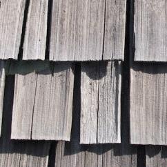 Split and cracked shake shngles